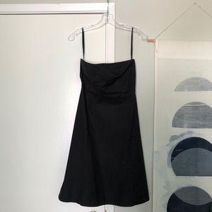 Gap Strapless black A-Lin's dress